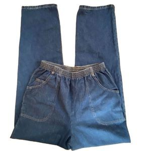 Cabin Creek 100% Cotton Pull On Jeans Sz 8